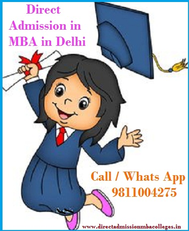 Direct Admission MBA colleges Delhi colleges list