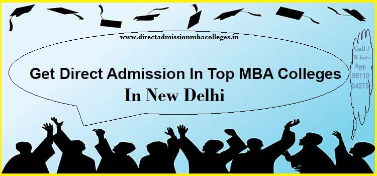 Direct Admission in MBA in new Delhi