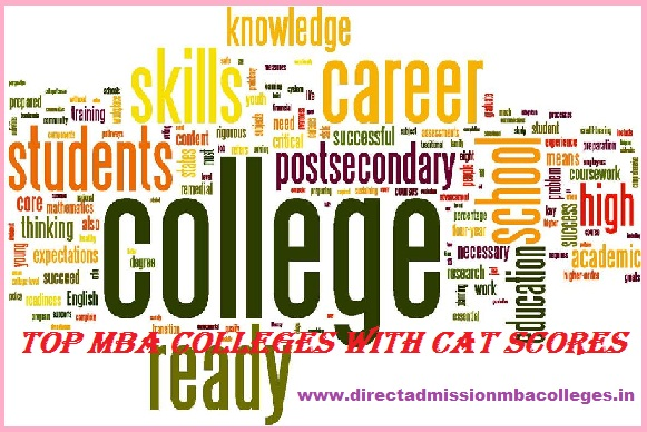 Direct Admission in Top MBA colleges with cat scores