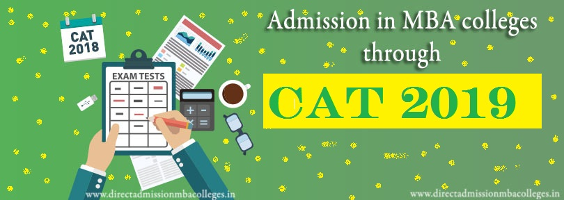 Admission in MBA colleges through cat